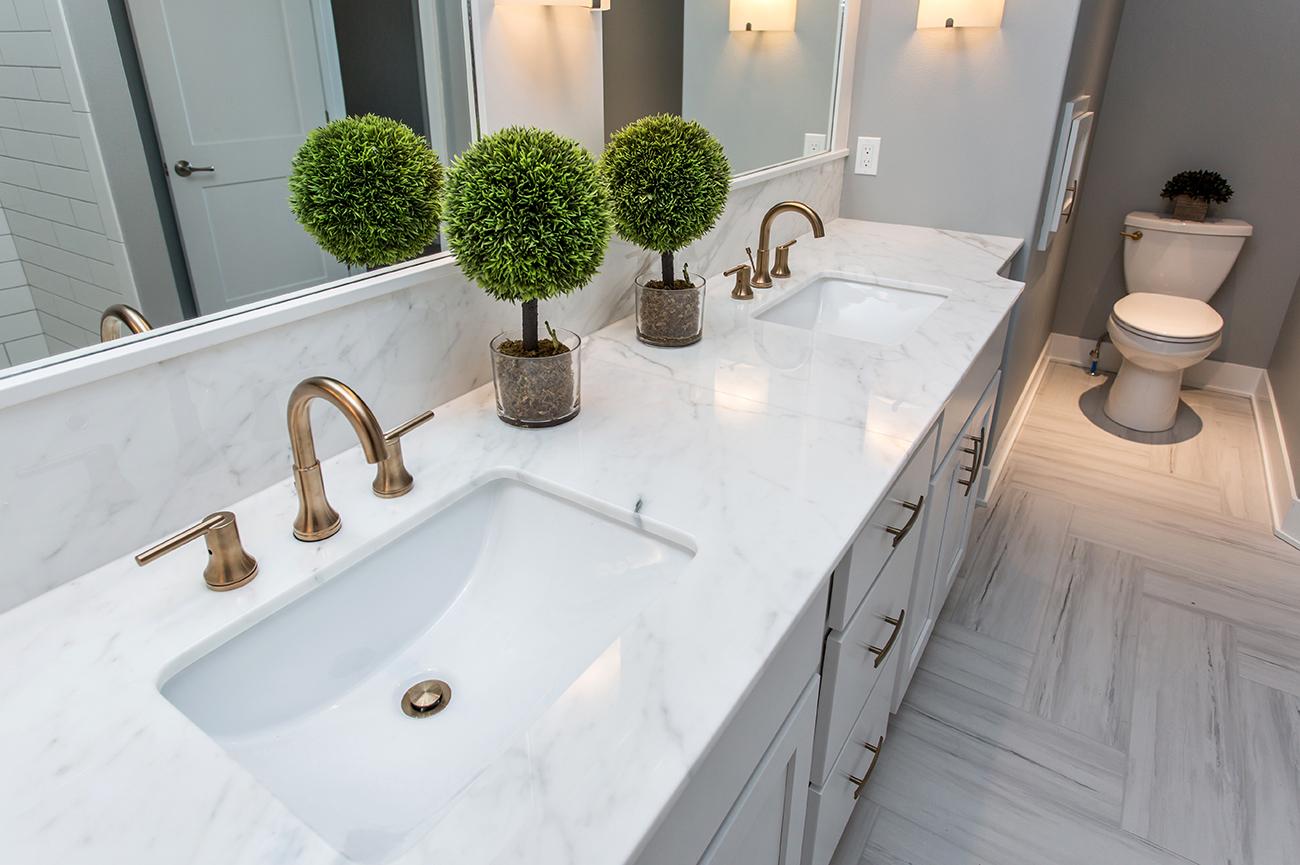 Calcutta Gold Marble Countertops for Bathroom. Browse Photos & Styles.