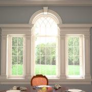 Palladian Window Trim Casing White