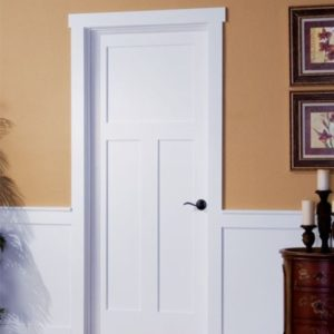 3 Panel Interior Shaker Door