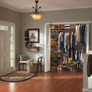 Bi-Fold Doors in Entry Way Of Home Remodel