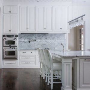 Ceiling Height White Kitchen Cabinets