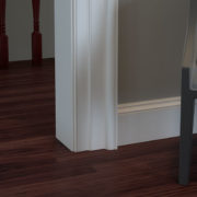 Classic White Baseboard Trim without Shoe