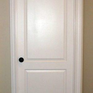 Interior Door with Crown
