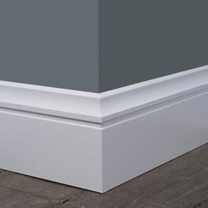 Luxury Plinth White Baseboard Trim