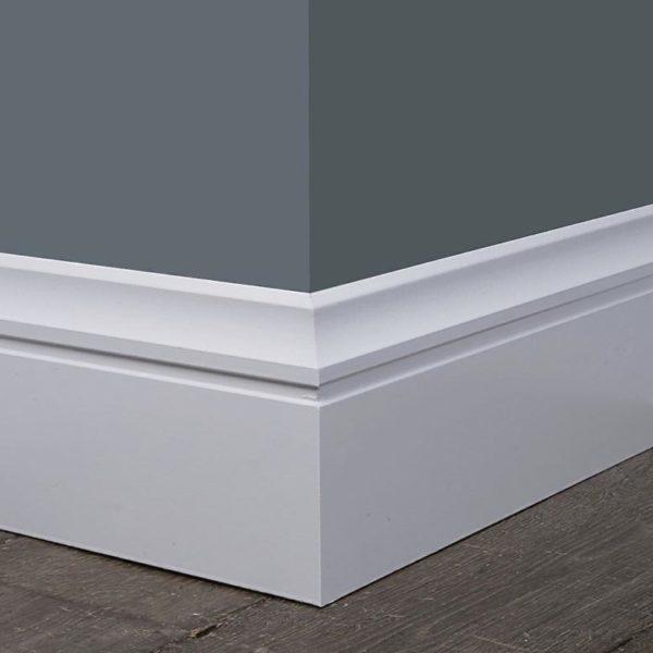 Luxury Plinth White Baseboard Trim