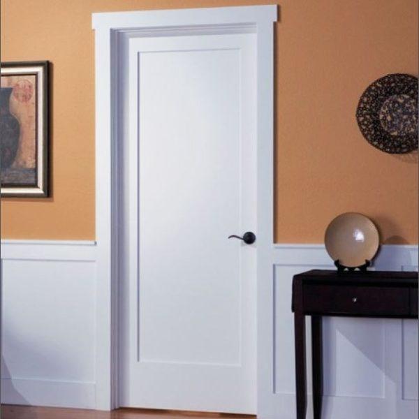 White Interior Shaker Door 1 Panel