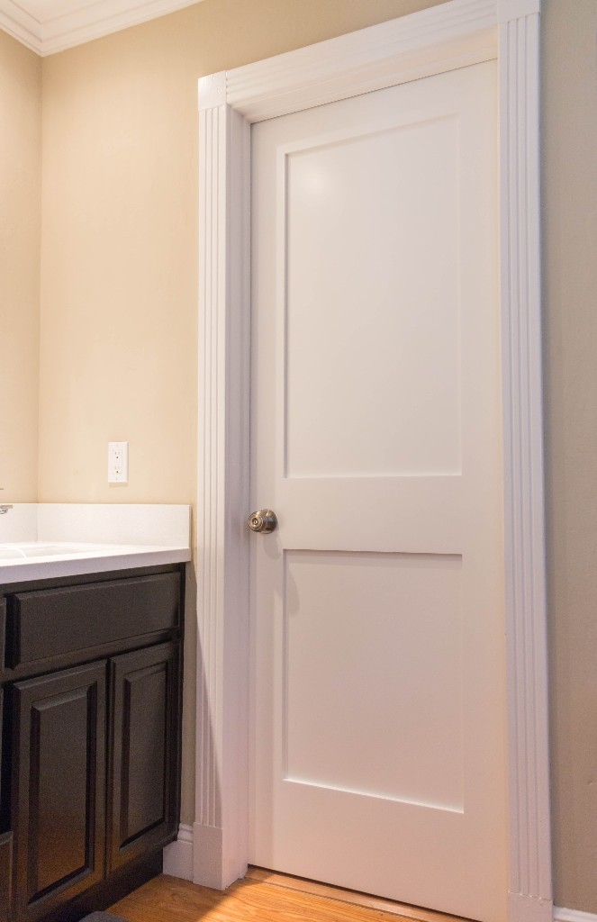 Interior Door Panel : White interior panel shaker door iowa remodels