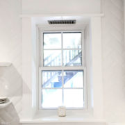 Window Sill Header White Trim