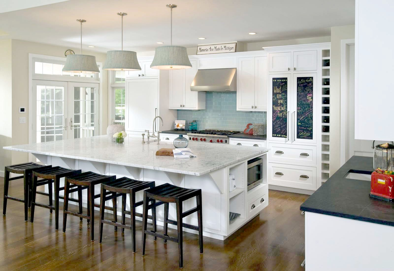 stunning modern open kitchen designs | Trendy or Timeless? Choosing A Home Remodeling Style ...